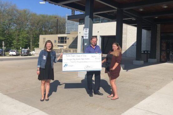 Balm Beach House of Glass celebrates 20 Years with $20,000 donation to GBGH