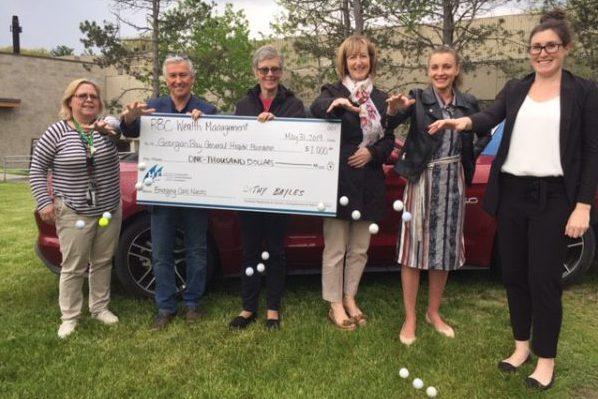 RBC donates $1,000 in honour of Bayles Deschamps Wealth Management!