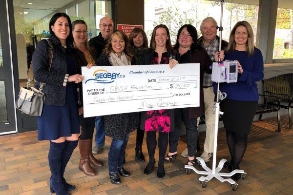 Golf Tournament Fundraiser for Georgian Bay General Hospital & Wendat a Resounding Success!