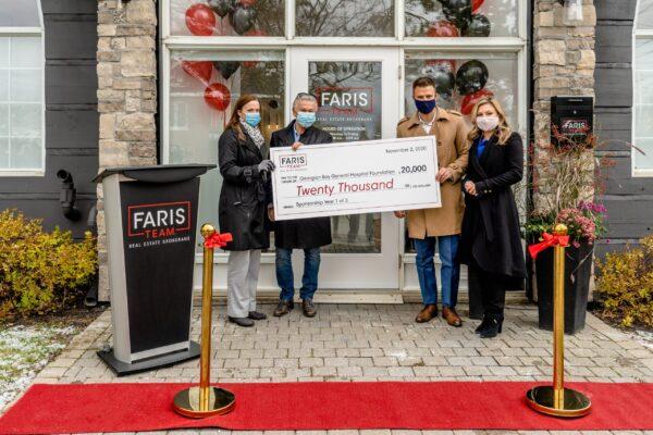 Faris Team announces $60K pledge to GBGH