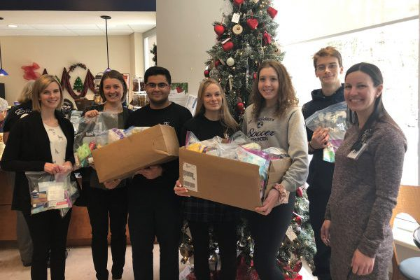 St. Theresa's health care class donates 200 hygiene kits to local charities