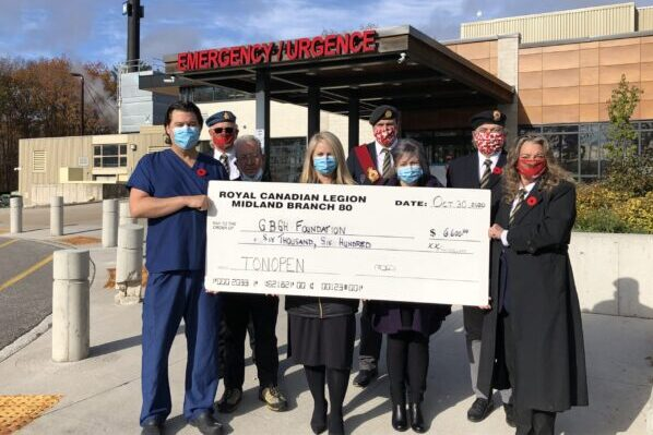 Midland Legion funds tonopen for GBGH