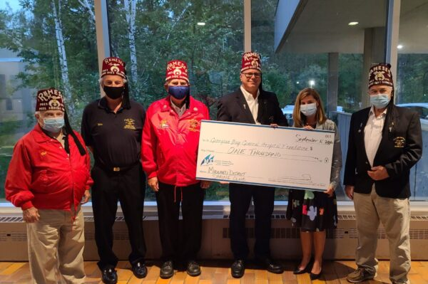 Midland District Shrine Club gives $1,000