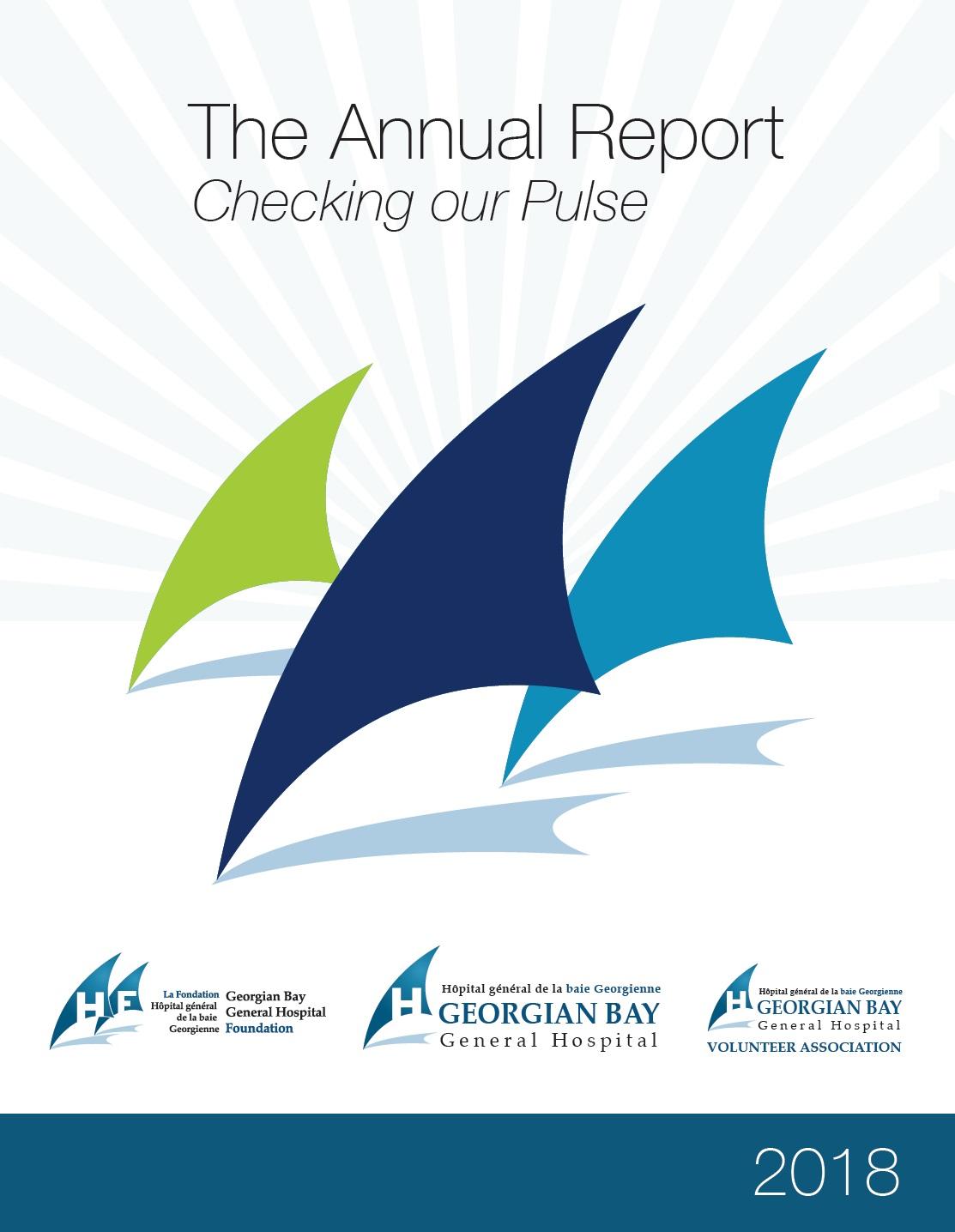 2018 Annual Report Cover