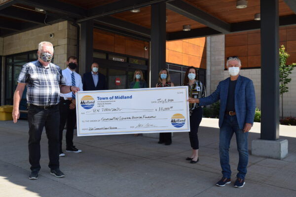 GBGH receives $10,000 grant from Town of Midland