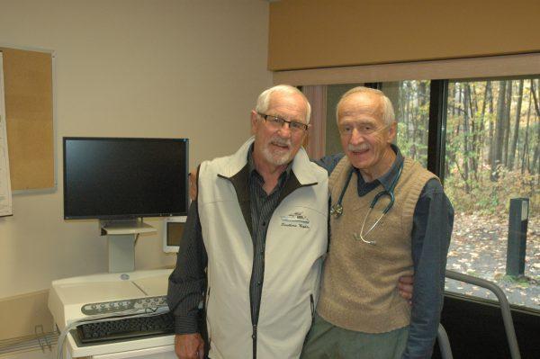 Peter Lyons & Dr. Dolezel