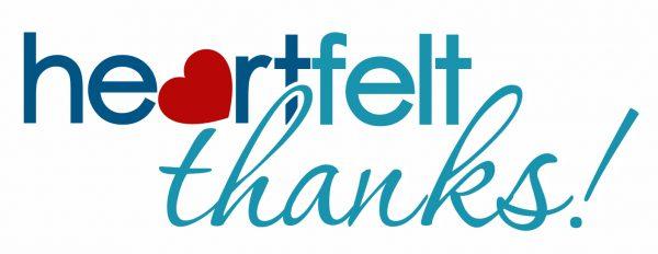 Heartfelt Thanks logo