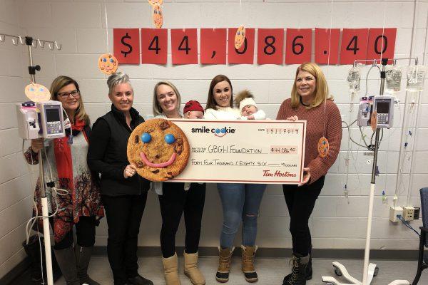 Tim Hortons Smile Cookie raises $44,086 for IV Pumps