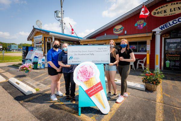 Ice Cream Fundraiser brings in $650!
