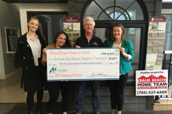 May & June Cheque Presentation