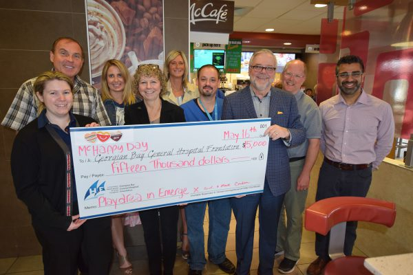 McHappy Day® helps families at GBGH!