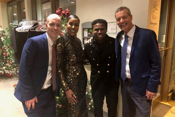 "Mike ""Pinball"" & Diane Clemons celebrate Christmas in Midland"