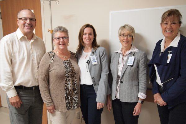 Hubers with Gail Hunt, Nancy Merrow and Kathy Elsdon Befort