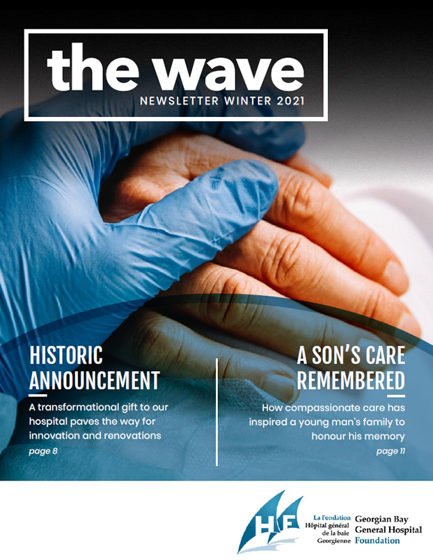 The Wave - Winter 2021 cover