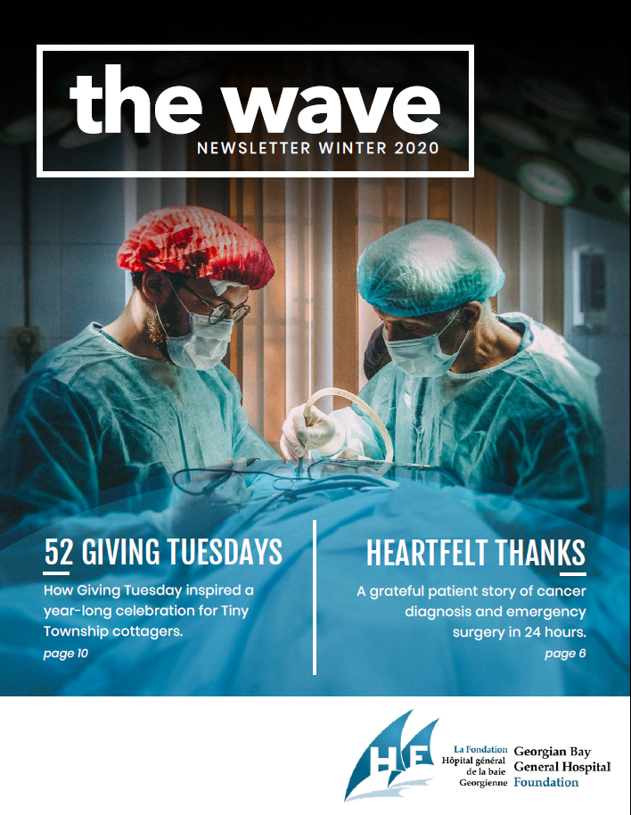The Wave - Winter 2020 Cover