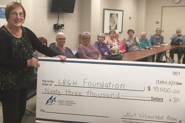 Volunteer Association gives $93,000