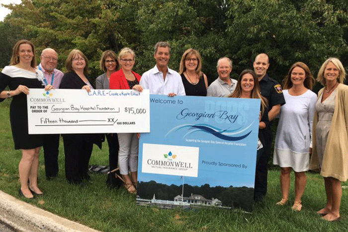 Commonwell Mutual C.A.R.E. donates $15,000 to CT scanner