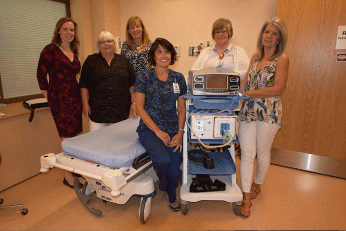 Gbay Gals Give visit GBGH