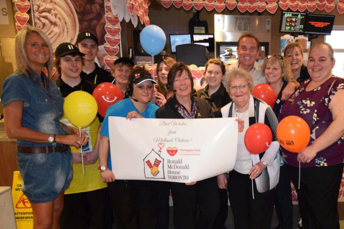 McHappy Day donations sponsor Children's Play Area in ED waiting room
