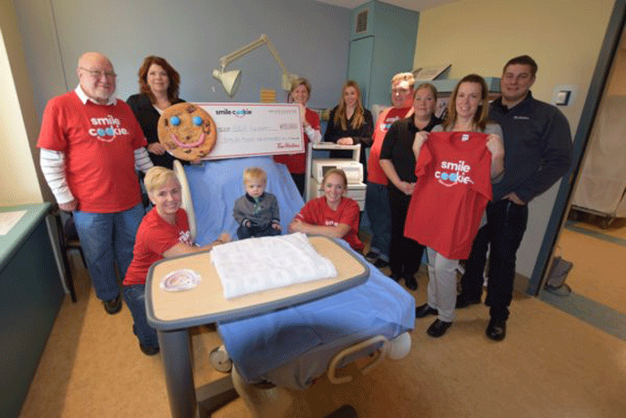Tim Hortons cookies give GBGH thousands of reasons to smile!
